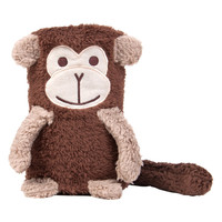 Monkey Pal Rolled Baby Blanket