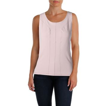 NYDJ Womens Shelf Bra Slimming Fit Tank Top