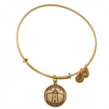 Edgartown Lighthouse Charm Bangle