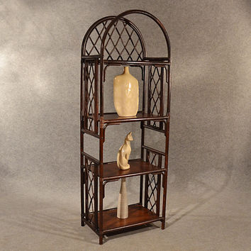 Bentwood Bookcase Display Shelves What Not Shelf Unit Storage 20th Century