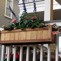 Planter for Railings - no tools to install