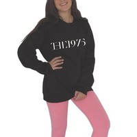 The 1975 Band sweatshirt black Hipster Fashion the 1975 shirt indie rock from CelebriTee
