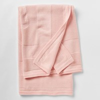 Gap Pink Bear Sweater Blanket Size One Size - Milkshake pink