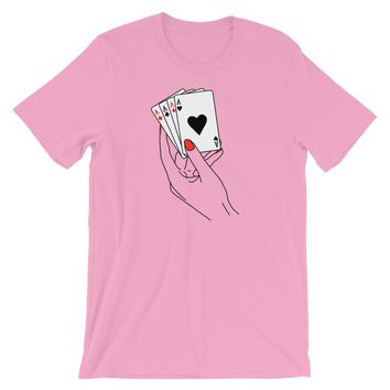 Lets Play T-Shirt Pink
