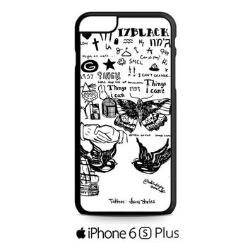 Harry Styles Tattoos iPhone 6S  Plus  Case