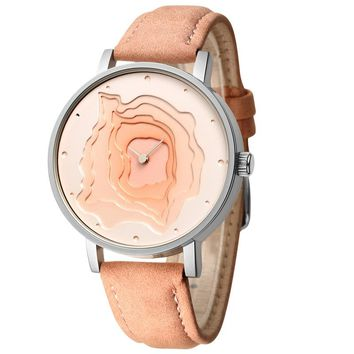 Mineral Stylish Quartz Women Watch
