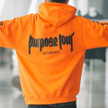 Purpose Your Front And Back Arm Printing Men And Women With Hoodies Hooded Sweater