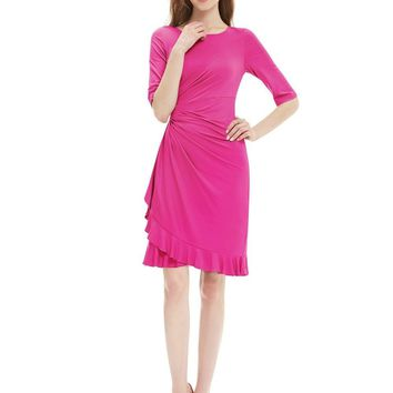 Ever Pretty 2017 Clearance Style Cocktail Dress Special Occasion Half Sleeve A-line Cocktail Dress XXPH00930EHA