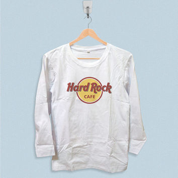 Long Sleeve T-shirt - Hard Rock Cafe Logo