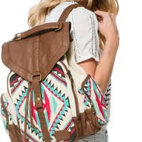 BILLABONG CAMPFIRE DAYZ CANVAS BACKPACK