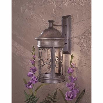 Minka-Lavery 8283-A61 Sage Ridge Vintage Rust One-Light Dark Sky Outdoor Wall Light