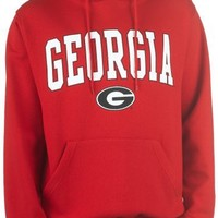 NCAA Georgia Hoodie With Arch and Mascot