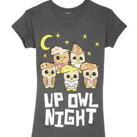 Up Owl Night Tee