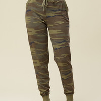 Altar'd State Camo Lounge Pants - Bottoms - Apparel