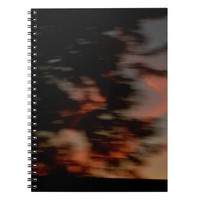 Summer Night Abstract Notebook