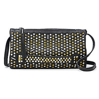 Botkier Starburst Studded Convertible Cross-Body Bag - Black