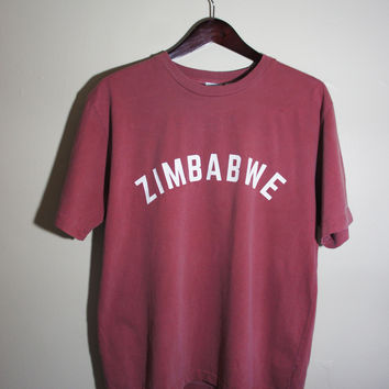 Zimbabwe Box Tee (Made in America)