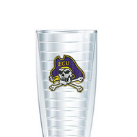 East Carolina University Tumbler -- Customize with your monogram or name!