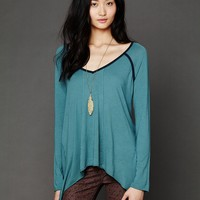 Free People Drapey Jagged Hem