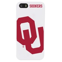 Oklahoma Sooners - Case for iPhone 5 / 5s - White