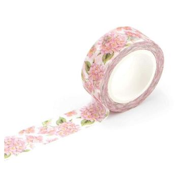 1.5cm Wide Luxuriant Flowers Washi Tape Adhesive Tape DIY Scrapbooking Sticker Label Masking Tape Flowers