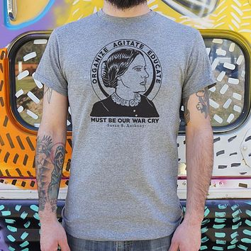 Susan B. Anthony Quote T-Shirt (Mens)