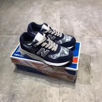 """""""New Balance 580"""" Unisex Sport Casual Fashion Camouflage N Words Sneakers Running Shoes"""