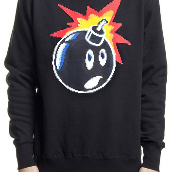 SHOP THE HUNDREDS | The Hundreds: 16 Bit Adam crewneck sweatshirt