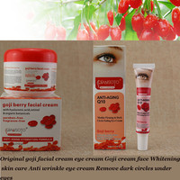 Original goji facial cream eye cream Goji cream face Whitening skin care Anti wrinkle eye cream Remove dark circles under eyes