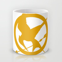 The MockingJay - Gold Mug by Lauren Lee Designs