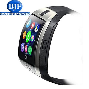 Smart Watch Q18 Plus Clock Sync Notifier Support Sim SD Card Bluetooth Connectivity Android Phone Smartwatch Sport pedometer