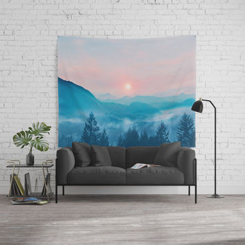 Pastel vibes 12 Wall Tapestry by vivianagonzalez