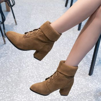 Women's Ankle Boots | Lace Up Ankle Booties