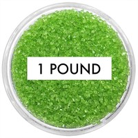 Lime Green Sanding Sugar 1 LB