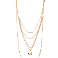 Mixed Bead Layered Necklace - Jewellery - 1000142127 - Forever 21 UK