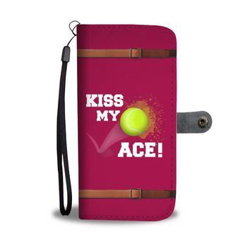 Tennis Women's Wallet Phone Case - Kiss My Ace Wallet Phone Case