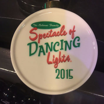Osborne Spectacle of Dancing Lights 2015 Ceramic Ornament