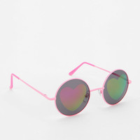 Urban Outfitters - Fast Love Round Sunglasses