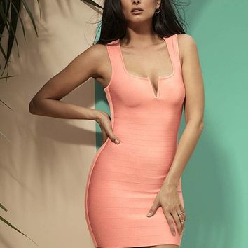 Vespera Bandage Dress at Guess