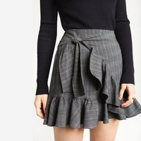 Preppy Plaid Mini Skirt