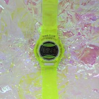 Bright Neon Jelly Watch from ☯ harajuku alien ☯