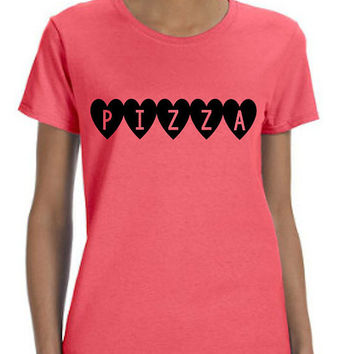 Pizza Love (Black Font) Shirt
