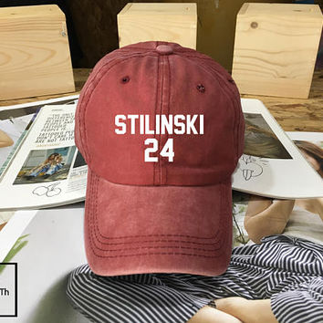 Stiles Stilinski Teen Wolf hat Maroon - Baseball Cap, Dad Hat Baseball Hat Stilinski 24 Baseball Cap , Low-Profile Baseball Cap Tumblr