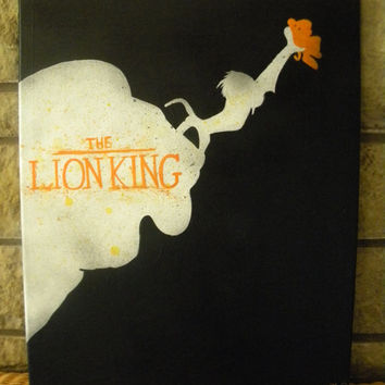 Handmade Original Disney Lion King