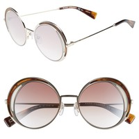 MARC JACOBS 51mm Round Sunglasses | Nordstrom