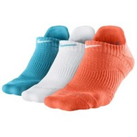 Nike 3 Pack Dri-Fit Cush No Show Socks - Women's