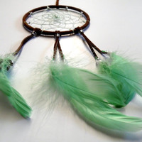 Mint Chocolate Dream Catcher, birthday, baby shower, Mother's day Gift