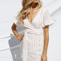 Lexis Wrap Dress - Dresses by Sabo Skirt
