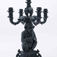Seletti Chimp Candelabra in Black - Urban Outfitters