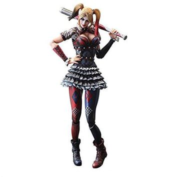 Square Enix Harley Quinn Batman Arkham Knight Play Arts KAI Action Figure